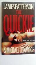 The Quickie by James Patterson and M. Ledwidge (2007, Hardcover) Flat Signed 1st