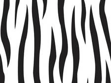 12 Safari Zebra Print 5x11 Cello Gift Bags & Silver Twist Ties Holiday Gifts
