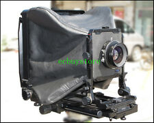 """Leather Wide Angle Bag Bellows For Toyo Field 810G 810M 810M II 8x10"""" Camera"""