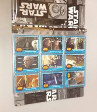 Topps Star Wars Journey to the Force Awakens Complete Set w/ All Inserts