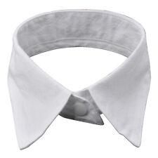 TRIXES Womens Peter Pan Fashion White Detachable Collar Choker Neck Bow Tie