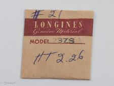 Longines Genuine Material Part #21 Ht. 226 Cannon Pinion for Longines Cal. 23ZS
