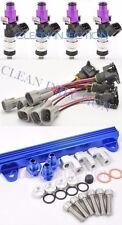 Toyota Celica MR2 ST185 3SGTE Blue ST165 1200cc Fuel Injectors Rail 1-2nd gen