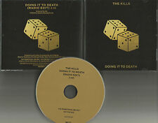 THE KILLS Doing it to Death  w/ RARE RADIO EDIT PROMO DJ CD Single 2016 MINT USA