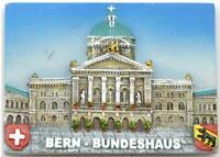 Bern Bundeshaus Regierungssitz Suiza Poly Imán Recuerdo Suiza, Nuevo