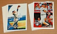New York Yankees Team Set 2010 Topps 1 2 & Update 44 cards Derek Jeter Rivera +