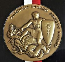 2003 American Cancer Society MEDAL OF HONOR given to FL Congressman Paul Rogers