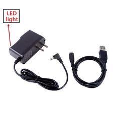 AC/DC Power Charger Adapter+USB PC Cord for JVC Everio GZ-E200/AU/S GZ-E200/BU/S