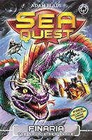 Finaria the Savage Sea Snake: Book 11 (Sea Quest),Adam Blade