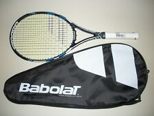 BABOLAT PURE DRIVE MP 100 10.6oz TENNIS RACQUET 4 1/4  NEW 2015 (NEW STRINGS)
