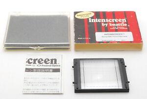Super Rare!! [Near MINT] beattie Intenscreen Mamiya RB67 Grid Type From JAPAN