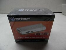 NEW Trendnet 4-Port USB KVM Switch Kit TK-407K