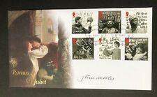 2011 Buckingham Covers - Romeo & Juliet cover signed by John Nettles.