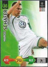 PANINI UEFA CHAMPIONS LEAGUE 2009-10 TRADING CARD-VFL WOLFSBURG-MARCEL SCHAFER