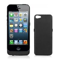 2200mAh Rechargeable Backup Battery Power Bank Charger Charge Case iPhone 5 BK