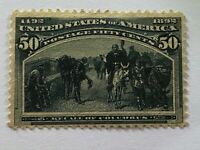 US Stamp Scott #240 MOG HH Well Centered look!!!!!!