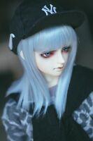 Bjd Doll Wig 1/3 8-9 Dal Pullip AOD DZ AE SD DOD/ Dollfie Doll blue Toy Hair