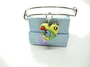 Chicken Little Adjustable Bangle Bracelet Easter Jewelry Gift for Mom or Sister