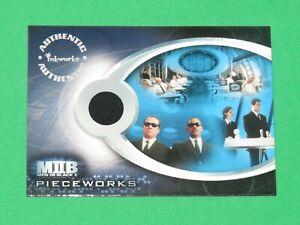 2002 MEN IN BLACK II Inkworks PIECEWORKS CARD #PW1 BLACK SUITS COSTUME MIB AGENT