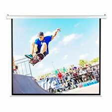 """Sound Around Pyle 100"""" Motorized Projector Screen, Electronic Automatic Display,"""