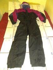 New listing Columbia Sportwear Black / Purple/Pink 1-Piece Ski Suit, Women's Size Xl Euc