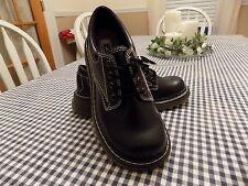 LA UNDERGROUND ~ Women's ~ Black Oxford Wedges Shoes ~ NEW ~ Size 6M