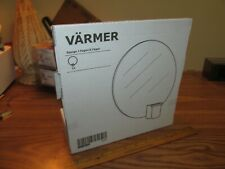 """New IKEA Varmer Glass Round Candle Holder Wall Sconce 10"""""""