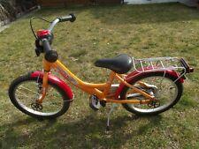 Ab 5 Jahre 18 Zoll Puky 4321 Alu Orange Kinderfahrrad mit Rücklicht