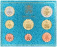 Coffret BU Vatican 2019 - série 1cts à 2 euro - 8 pièces