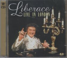 "Liberace ""Live In London"" 2CD Set NEW & SEALED 1st Class Post From The UK"