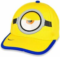 Minions Boys Cotton Baseball Cap Adjustable Hat Kids Gift Toy Toddler Age 2+