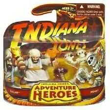 Indiana Jones Adventure Heroes NIB Hasbro Sallah & Mummuy Action Figures