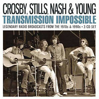 Crosby, Stills, Nash and Young : Transmission Impossible CD Box Set 3 discs