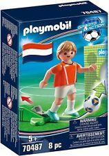 Playmobil ® 70487 Joueur Néerlandais - Footballer- Sport - Neuf - New - nuevo