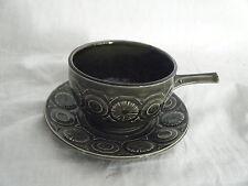 C4 Pottery Tams Soup Bowl & Saucer 18x8cm 1D3B