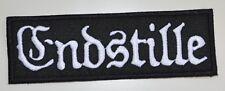 ENDSTILLE - Logo - 13,3 cm x 4,4 cm - Patch - 165108