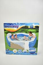 Aufblasbares Planschbecken Gartenpool Fun Pool 213x206x69 cm BESTWAY
