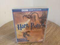 Cassette Audio Book Harry Potter and the Goblet of Fire JKR Vintage / Retro BBC