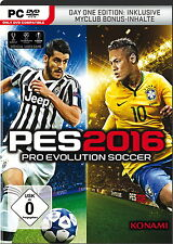 Pro Evolution Soccer 2016 - Day One Edition + Steam Code