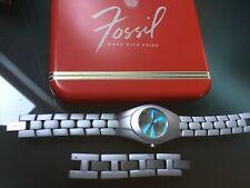 Fossil F2 ES 9107 Damen Armbanduhr Aluminium, Edel Sehr leicht Weihnachten