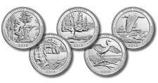 2018-P&D National Park Quarters 10 Coin Set