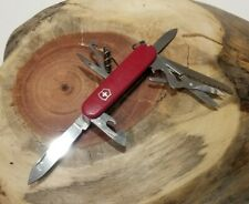 Victorinox Swiss Army Pocket Knife Red Huntsman Camping Multi Tool Excellent P18