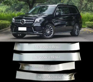Inner Door sill scuff plate For Mercedes-Benz M ML350 ML550 GLE class W166 2012+