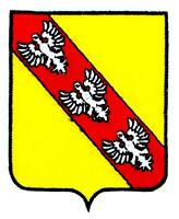 Patch ecusson brodé LORRAINE  Blason armoirie drapeau region heraldique