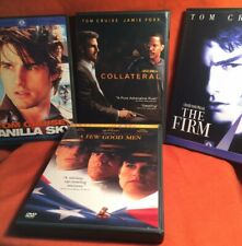 """Eight Tom Cruise Dvds Including Classics Plus 'Collateral' And """"Eyes Wide Shut'"""