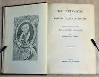 1800s Antique Book The Heptameron Margaret Queen of Navarre