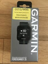 Boxed Garmin Forerunner 35 GPS Sports Running Cycling Watch (black)