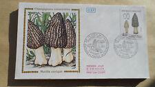 FDC Enveloppe Premier Jour - CEF - Champignons comestibles Morille conique 1987