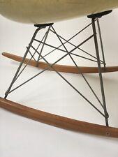 All orig. 1st Gen. Zenith Eames Herman Miller Rope Edge Fiberglass Rocking Chair