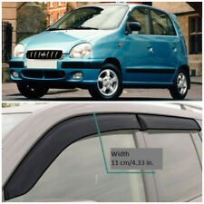 HE25299 Window Visors Vent Wide Deflectors For Hyundai Atos Prime 1999-2008